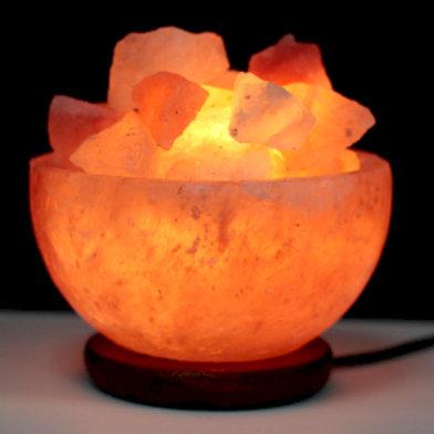 Salt Fire Bowl and Chunks