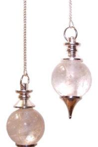 Sphere Pendulum - Rock Quartz