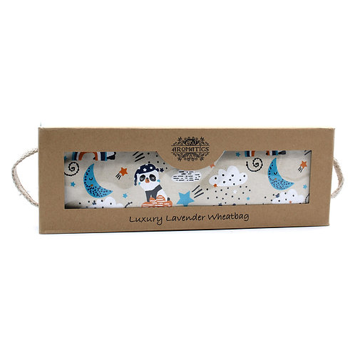 Luxury Lavender Wheat Bag in Gift Box -  Sleepy Panda