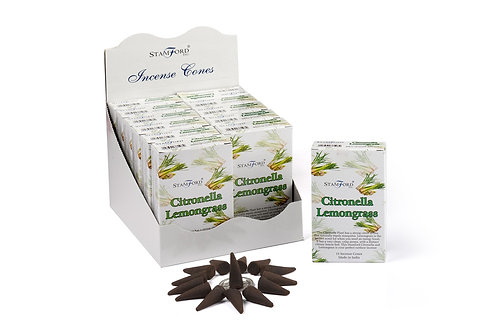 Citronella & Lemongrass Incense Cones