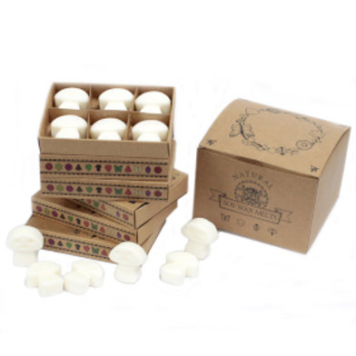 Box of 6 Wax Melts -   White Musk