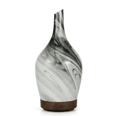 Aroma Atomiser - Glass Abstract Grey
