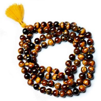 Mala Beads - 108 Tiger Eye