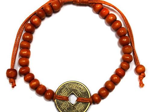 Good Luck Feng-Shui Bracelets - Orange