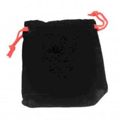 Quality Velvet Pouch - Black 10x12cm