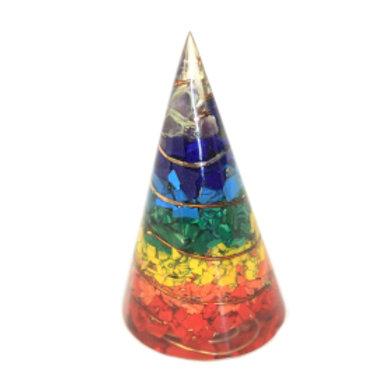Orgonite Cone - Multichip