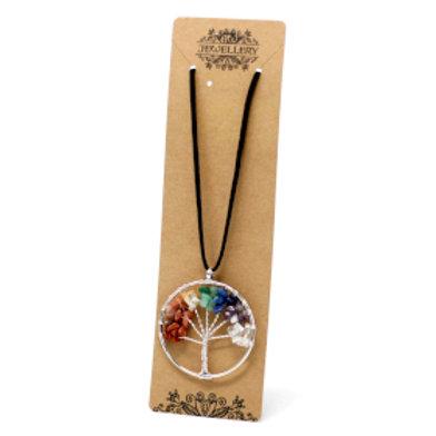 Chakra Tree of Life Necklace - Large