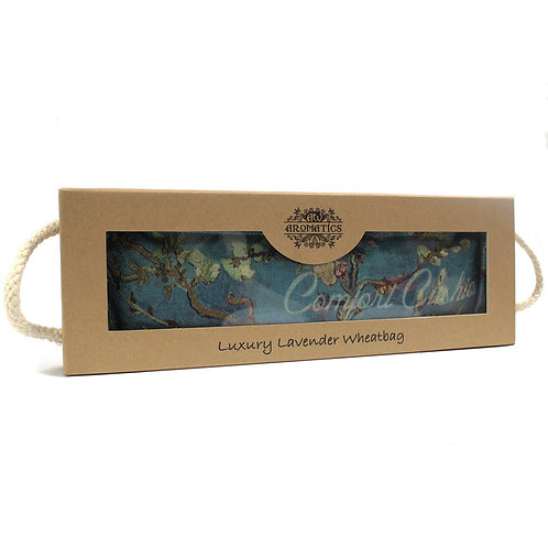 Luxury Lavender Wheat Bag in Gift Box -Blossom