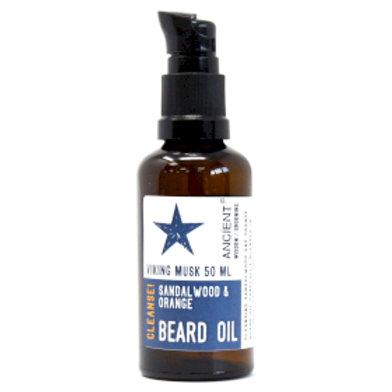Beard Oil - Viking Musk - Cleanse!