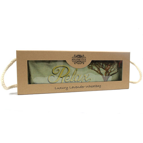 Luxury Lavender Wheat Bag in Gift Box - Cornfield Relax