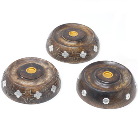 Cone & Stick Burner- Asst Design - Mango Wood