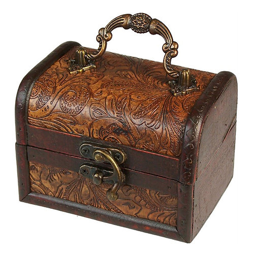 Colonial Boxes - Floral Embossed