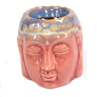 Buddha Oil Burner - Rose & Teal