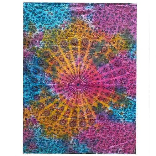 Cotton Wall Art - Round Mandala