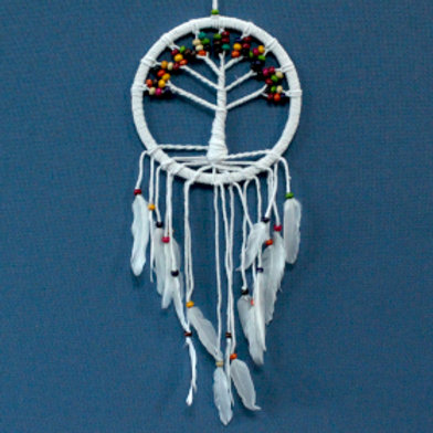 Tree of Life Dreamcatcher - Cotton 22cm