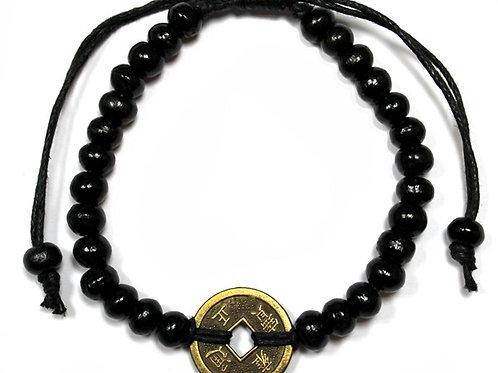 Good Luck Feng-Shui Bracelets - Black