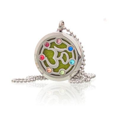 Aromatherapy Jewellery Necklace - OM Chakra - 30mm