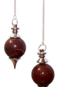 Sphere Pendulum - Red Jasper