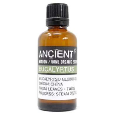Eucalyptus Organic Essential Oil 50ml