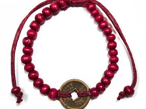 Good Luck Feng-Shui Bracelets - Red