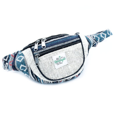 Bum Bag - Hemp & Cotton (assorted)