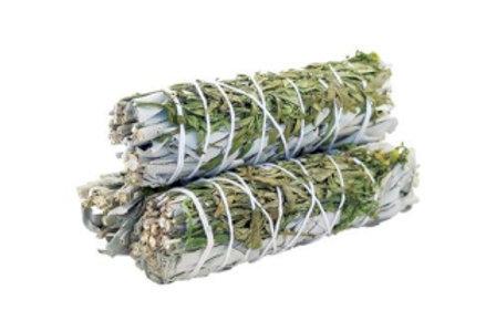Smudge Stick - White Sage & Ruda 10cm