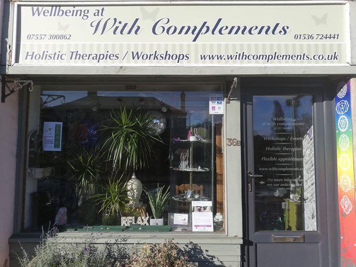 Wellbeing at With Complements Kettering Reiki Crystal Healing