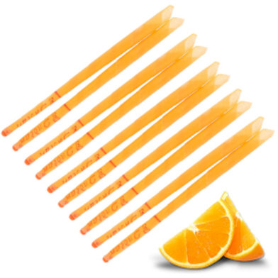 2x Scented Ear Candles - Sweet Orange