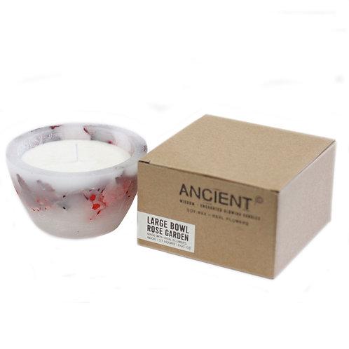 Enchanted Candle - Large Bowl - Rose