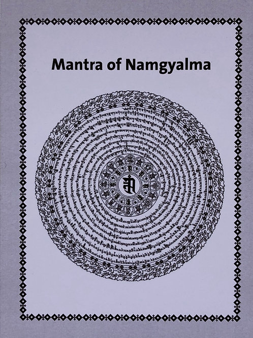 Namgyalma Mantra kaart