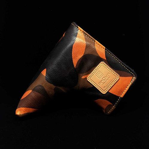Orange Camo Putter Cover // Ltd. 15