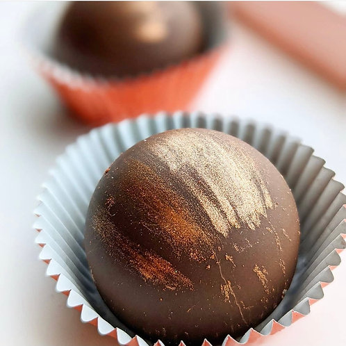 Chocolate Sugar Cookie Truffles