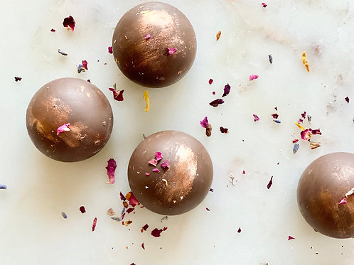 Chocolate Sugar Cookie Truffles