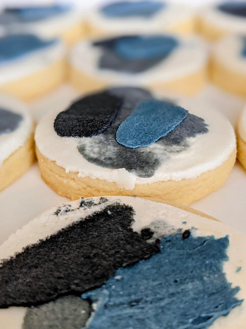 Father's Day Abstract Cookies