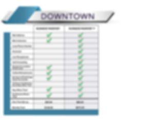 Downtown - Virtual Price Sheet UPTD 1218