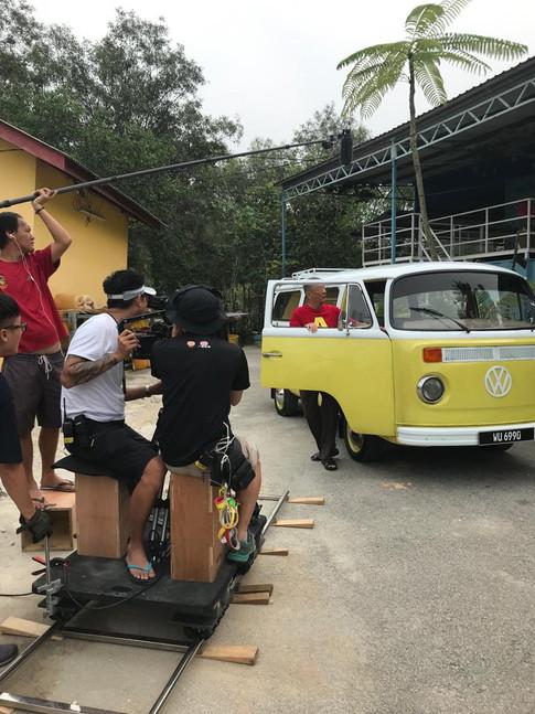 《学霸》Car Scene