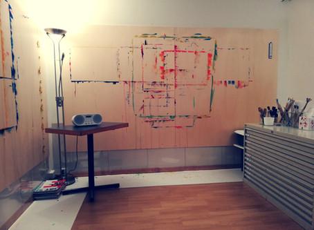 Ein Blick ins temporäre Therapie-Atelier. Freie Termine!