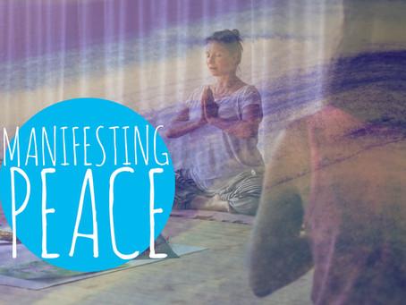 15.3.2020 Yoga meets Art              :: Manifesting PEACE ::