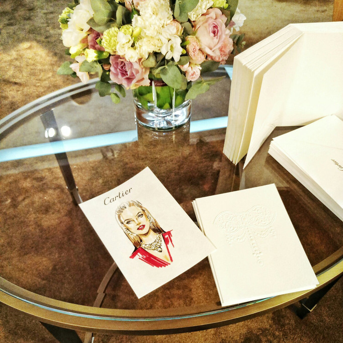 Праздник Весны в бутике Cartier