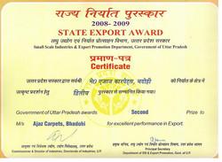 Award Certificate - 2009.jpg