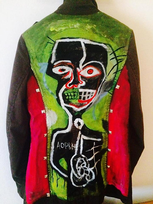 The Basquiat say jacket