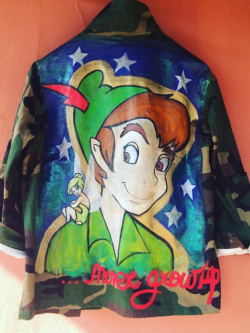 The Peter Pan by night jacket