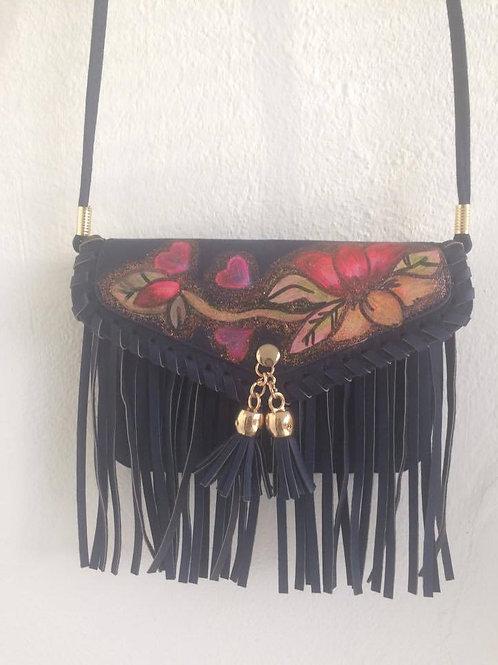 flower hippie bag