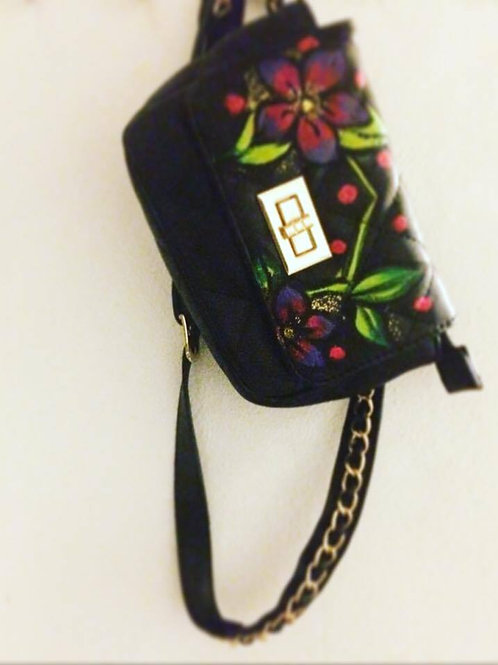 flower banana bag