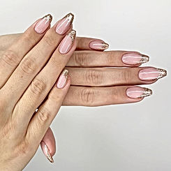 Hidden presents are fair game. Nails by
