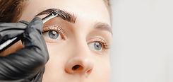 Eyebrow tint, master correction of brow