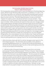 Emergency_nonemergency School Reporting