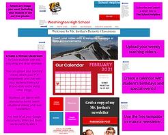 Virtual Teacher website template image.p