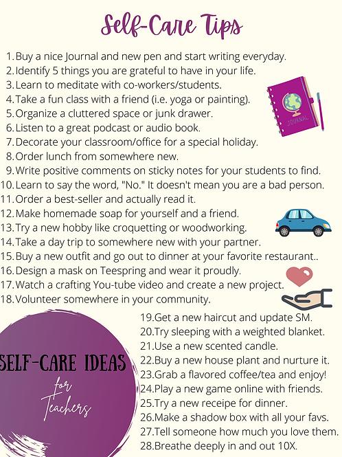 Mental Health Tips for Educators