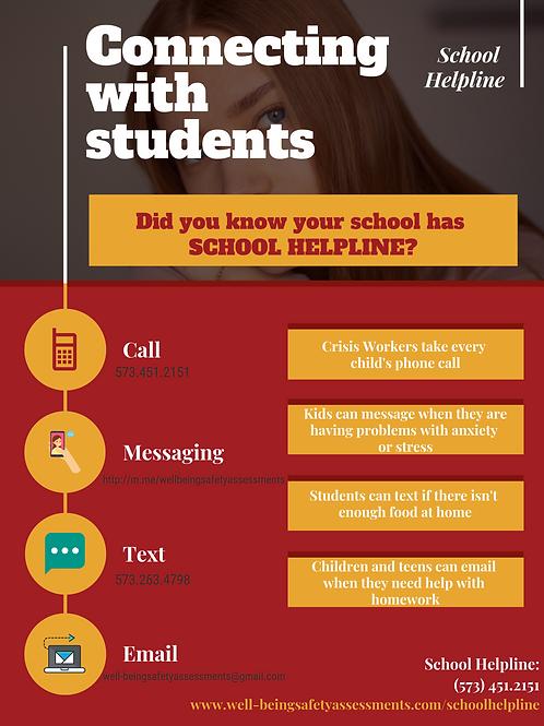 Red School Reporting System Poster